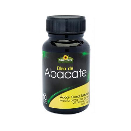Óleo de Abacate 60 cápsulas 1400mg – Sunflower - Saúde Pura