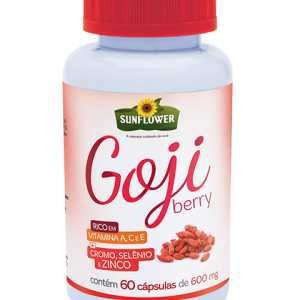 Gojiberry 60 capsulas - 600mg - Sunflower-0
