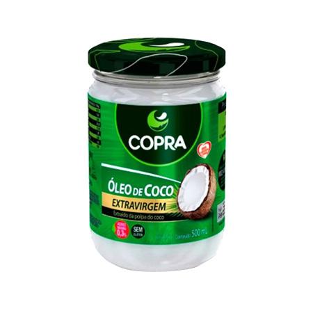Óleo de Coco Extra Virgem - Copra 500ml - Saúde Pura