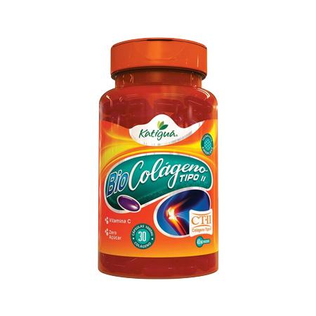 Bio Colágeno Tipo II 30 Cápsulas Katiguá - Saúde Pura