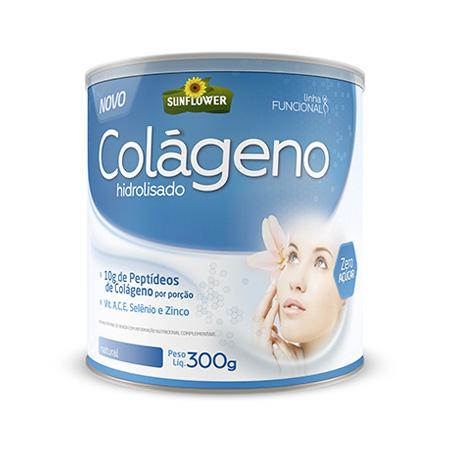 Colageno Soluvel – Natural – 300gr – Sunflower - Saúde Pura