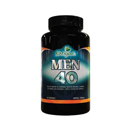 Men 40 – Saúde do Homem -1000mg – 60 Cápsulas – Katiguá - Saúde Pura