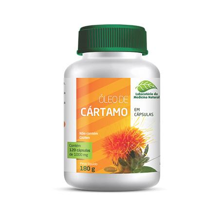 Óleo de Cartamo 120Caps 1000Mg – Medinal - Saúde Pura