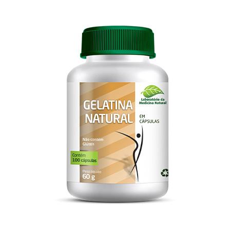 Gelatina Natural 100Caps 500Mg – Medinal - Saúde Pura