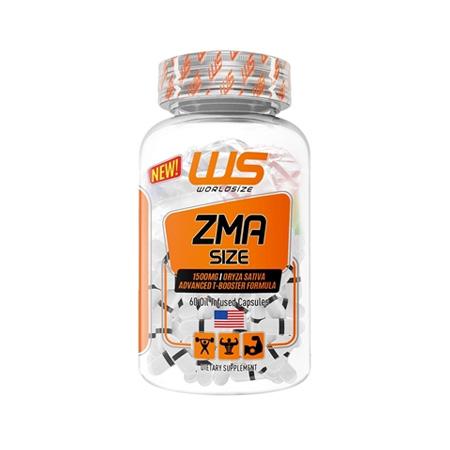ZMA Size Worldsize - 60 cápsulas - Saúde Pura