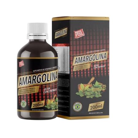 Amargolina Ultra Concentrado 200ml - Saúde Pura