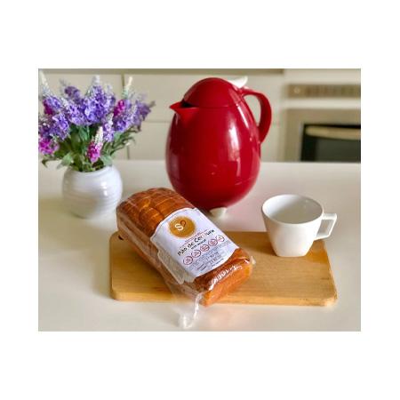 Pão de Cenoura, Sem Glúten 510g (Congelado) - Mais Saúde
