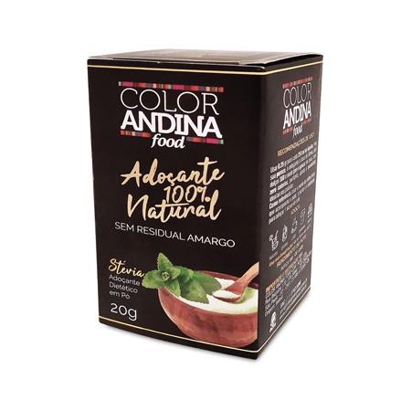 Adoçante de Stévia 100% Natural 20g – Color Andina Food