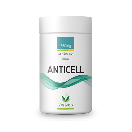 Anticell 750mg 60 Cápsulas - Vital Natus