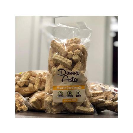 Biscoito Amanteigado Sem Glúten 250g – Donna Asta