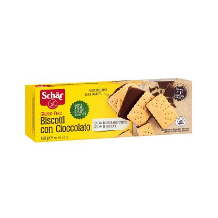 Biscoito Com Chocolate Sem Glúten 150g – Schär