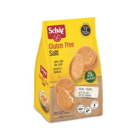 Biscoito Sem Glúten Salti 175g – Schär