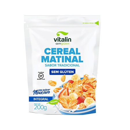Cereal Matinal Sabor Tradicional Sem Glúten 200g – Vitalin