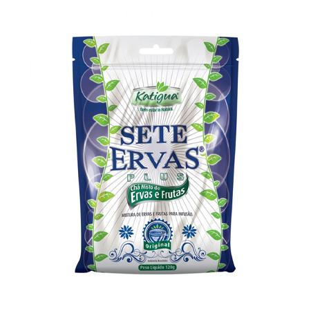 Chá Sete Ervas Plus 120g - Katiguá