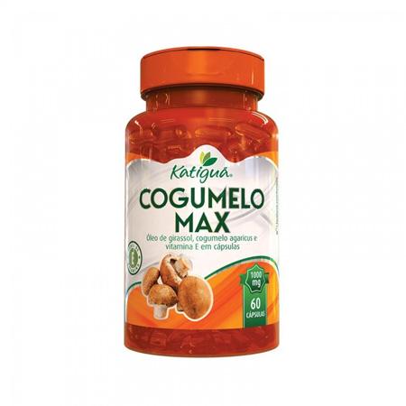 Cogumelo Max 60 cápsulas 1000mg - Katiguá