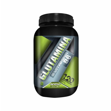 Glutamina e Vitamina B6 120 Cápsulas - Body Power