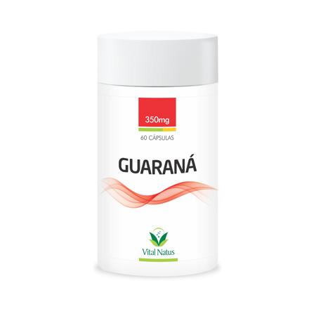 Guaraná 60 Cápsulas 350mg - Vital Natus