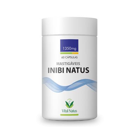 Inibi Natus Mastigáveis Sabor Coco 60 Cápsulas - Vital Natus