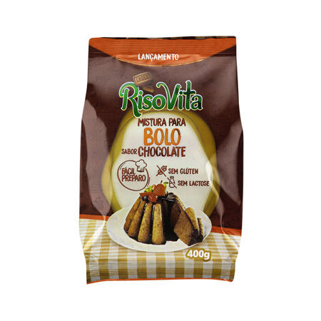 Mistura Para Bolo Sabor Chocolate 400g – RisoVita