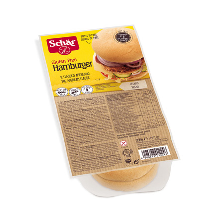 Pão de Hambúrguer Sem Glúten 300g – Schär
