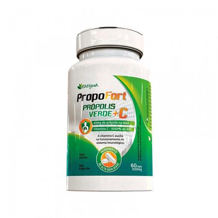 Propofort Própolis Verde + Vitamina C 60 Capsulas - Katiguá