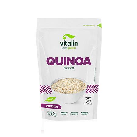 Quinoa em Flocos 120g – Vitalin