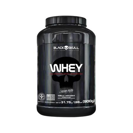 Whey Protein Sabor Baunilha 900g - Black Skull