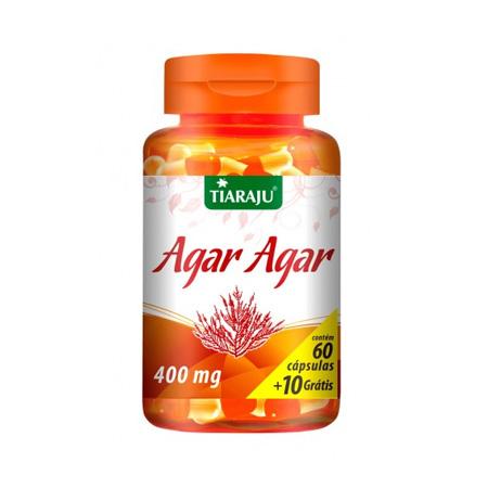 Agar Agar (400mg) 60 + 10 Cápsulas - Tiaraju