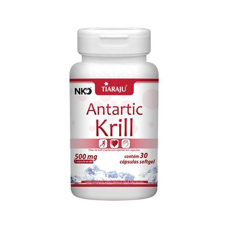 Antartic Krill 500mg 30 Cápsulas (Óleo de Krill) - Tiaraju