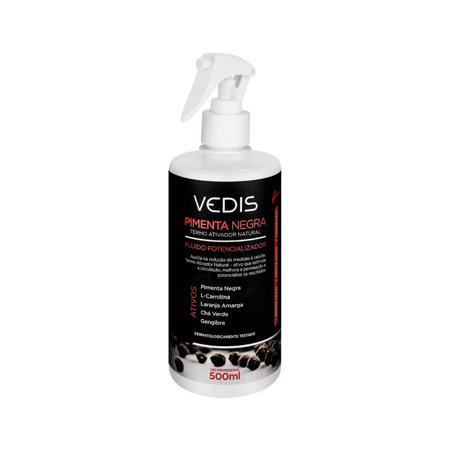 Fluido Potencializador Pimenta Negra 500ml - Vedis