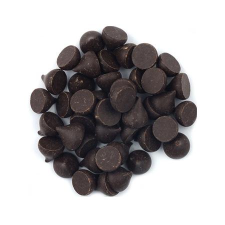 Gotas de Chocolate 70% Cacau Sem Leite, Vegano 120g - Chocolate da Ilha
