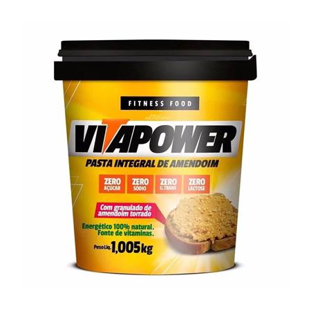 Pasta de Amendoim Crocante 1Kg - Vitapower
