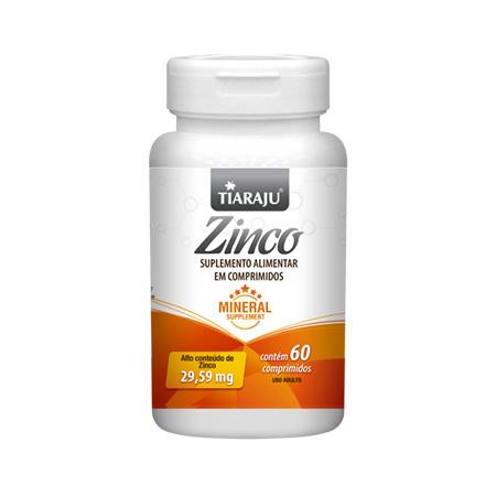 Zinco 60 Comprimidos - Tiaraju